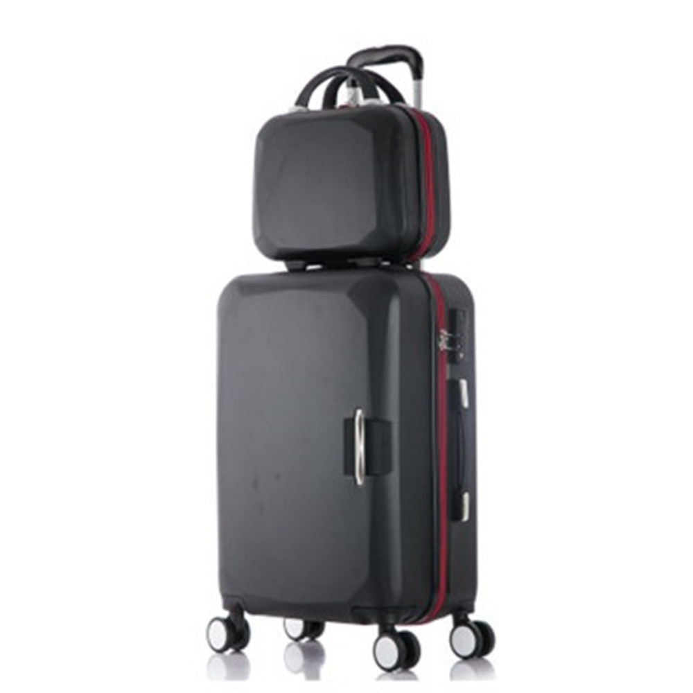 2018 New Hot sales One set Trolley case suitcase set/travell case luggage/Pull Rod trunk rolling spinner wheels/PC boarding bag цена