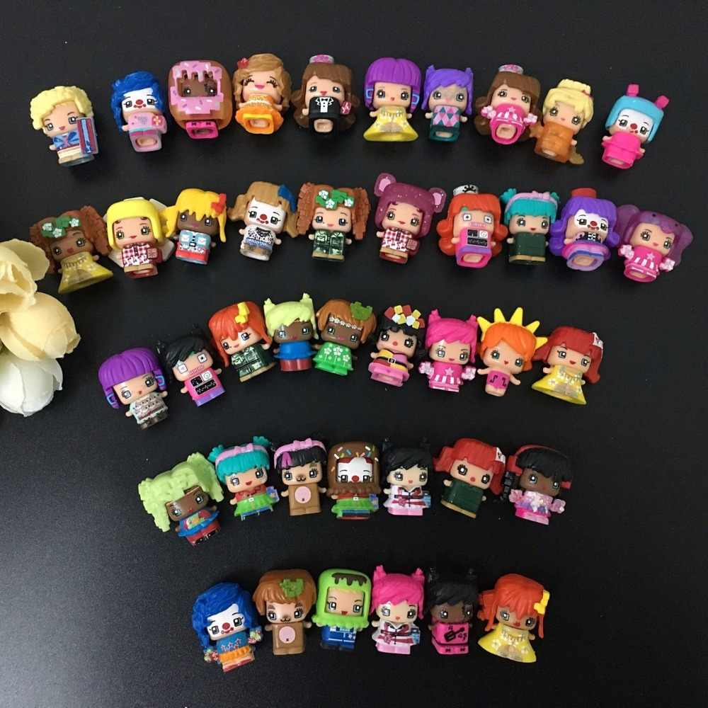 20-100 Pcs/lot MMMQ's My Mini Mixie Q's  Anime Dolls Mixieq's Assembling Girl Model Capsule Toys Action Figures Mixieqs Gift
