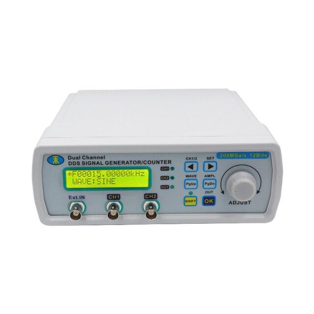 Цифровой DDS двухканальный сигнал MHS-5200A источник генератор произвольной формы частотомер 25 мГц для исследования engineer20 %