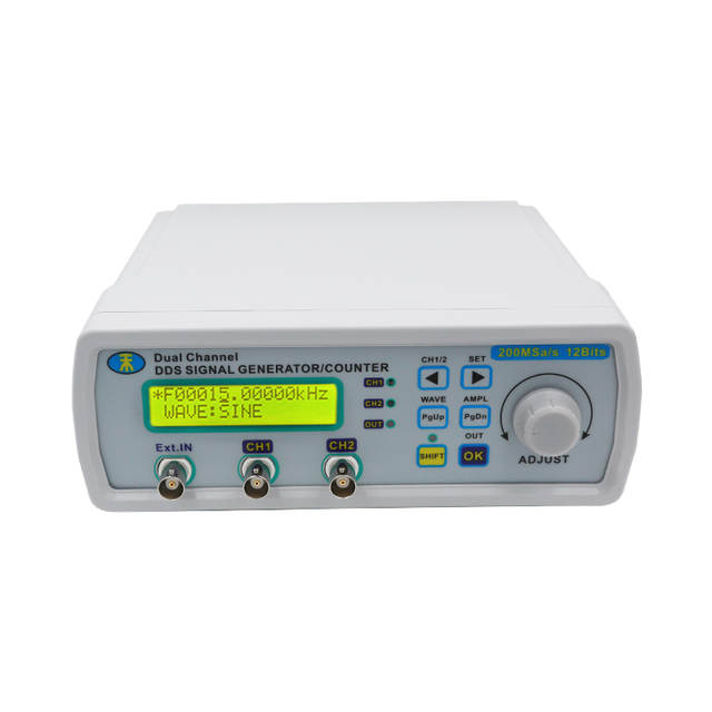 US $62 0 20% OFF|Digital DDS Dual channel Signal MHS 5200A Source Generator  Arbitrary Waveform Frequency Meter 25MHz for researching engineer20%-in