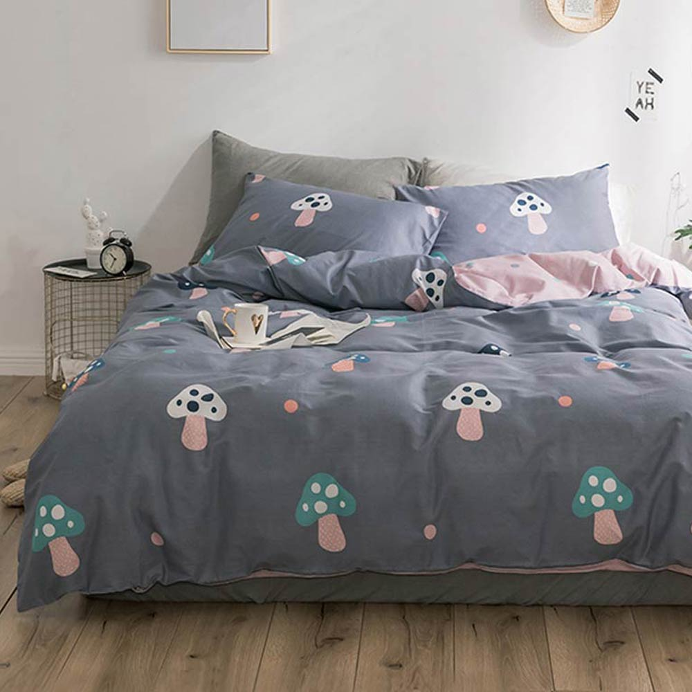 Svetanya pure Cotton Bedding set Single Double King Size Bed Linen for Kids Adults