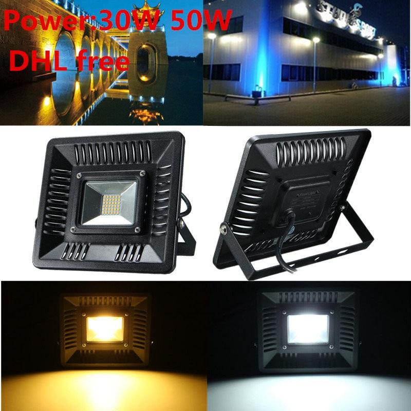 New Arrival LED FloodLight 30W 50W IP65 Waterproof Smart