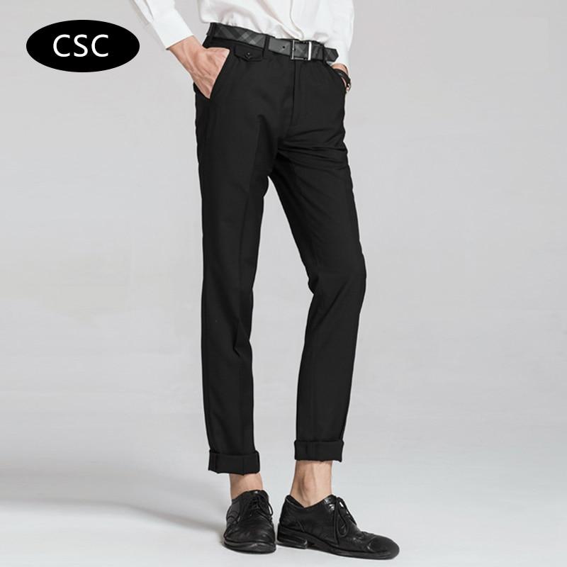 Erkek Gelinlik Suit Pantolon erkekler için 2018 moda Slim fit Parti - Erkek Giyim - Fotoğraf 2