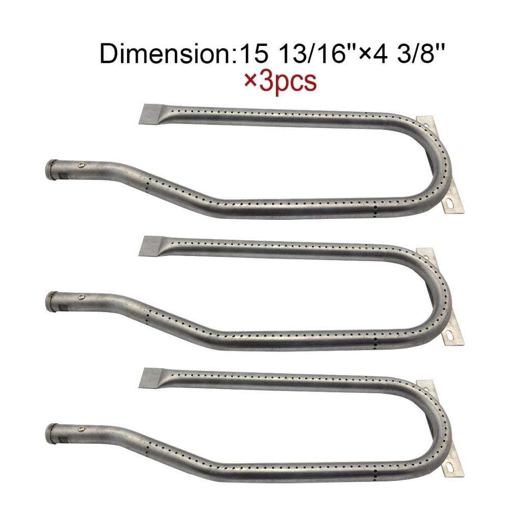 Jenn air stainless steel gas grill - 13361 Bbq Parts Gas Grill Replacement 15 8 Inch Stainless Steel Burner For Jenn Air 720