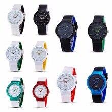 1 pc 2017 nova moda de Luxo da marca das senhoras das mulheres relógios de pulso relógios horas Quartz Relógios de Pulso presente pulseira de silicone à prova d' água H5
