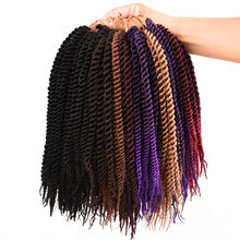 Synthetic Crochet Braids 24 Roots Kids Senegalese Twist Hair