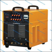 TIG200P ACDC inverter welding machines can weld aluminum workpiece
