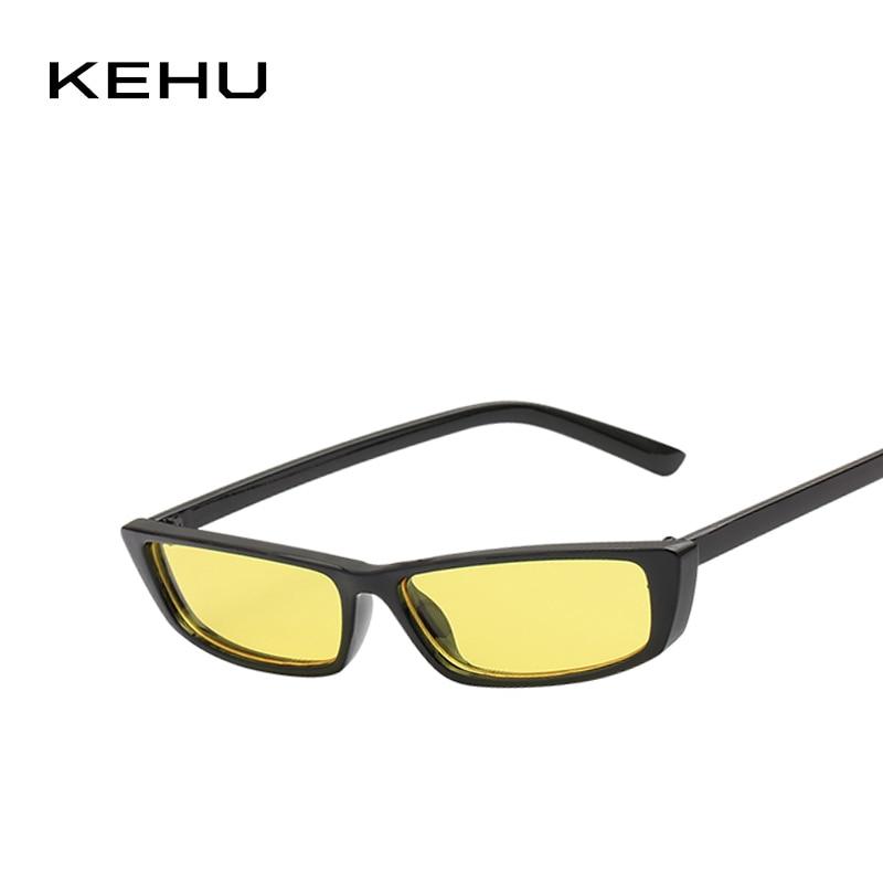 f278fe0c6ec143 KEHU Hoge Kwaliteit Zonnebril 2018 Nieuwe Bril Mode Vierkante Zonnebril  Vrouwen Merk Designer Vierkante Zon bescherming