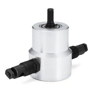 Image 3 - 파인더 전문 더블 헤드 금속 플레이트 커터 드릴 액세서리 360 학위 회전 커팅 시트 도구 부품 철 상자