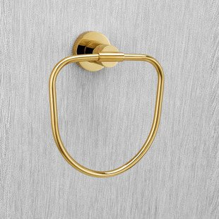Wall Mounted Gold Plated Bronze Towels Ring free shipping nervilamp 710 2a gold bronze