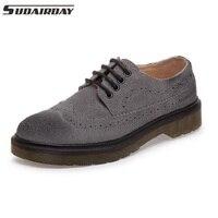 Plus Size 34 44 Lovers Shoes Womens Flats Round Toe Vintage Platform Shoes Oxford Lace Up