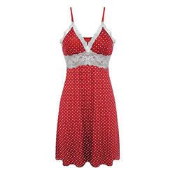 Womail для женщин Мода Nighte платье в горошек Сексуальное белье Sleepskirt нижнее бельё для девочек M301225