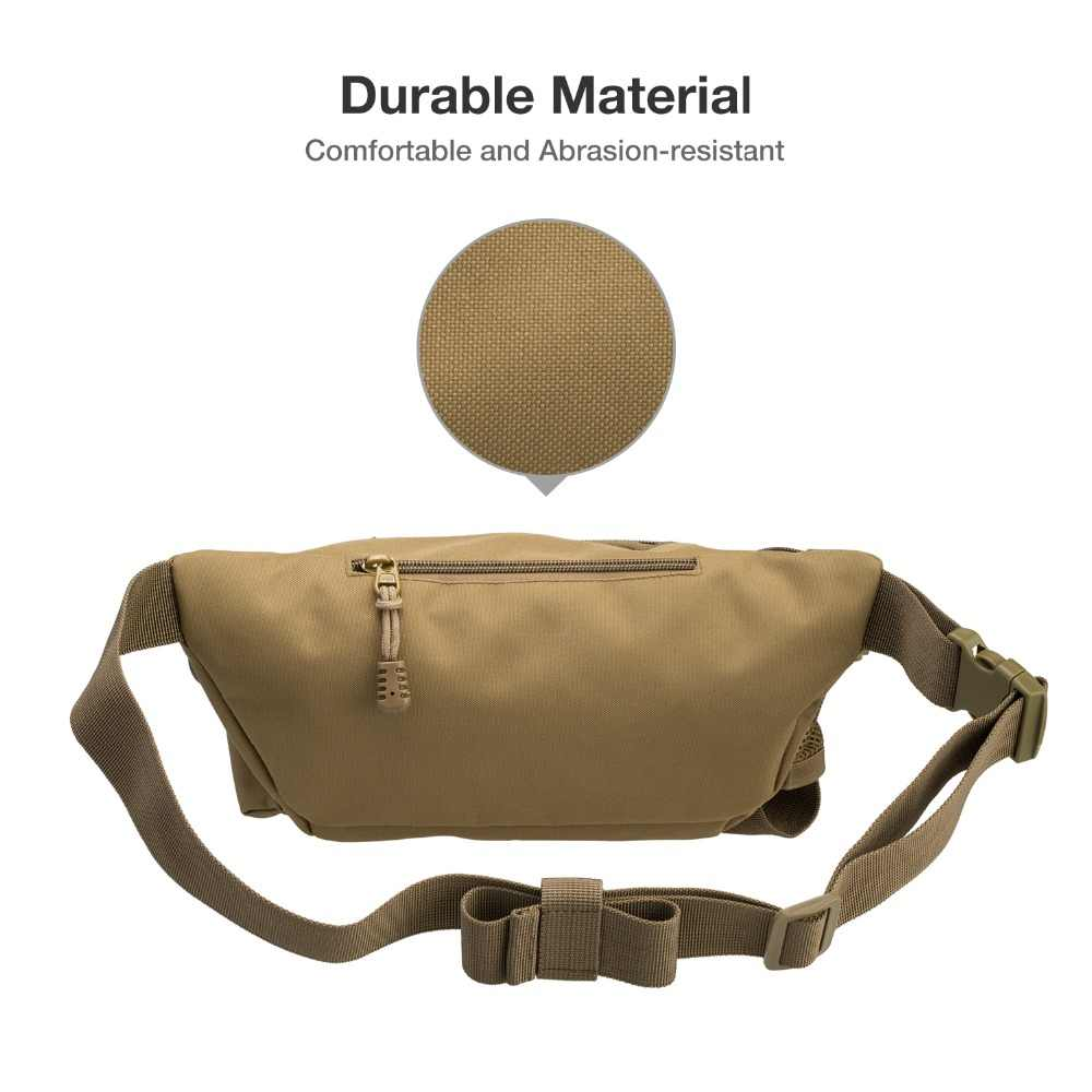 Sac de pêche Piscifun multifonctionnel sac de taille en plein air Portable leurre sac de taille sac de messager paquet de poteau sac de matériel de pêche