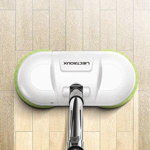Image 3 - LIECTROUX コードレス電動モップ水去勢で、ワックスがけ Moping パッド、ウェット床ロボット掃除機、低ノイズ、 led ライト