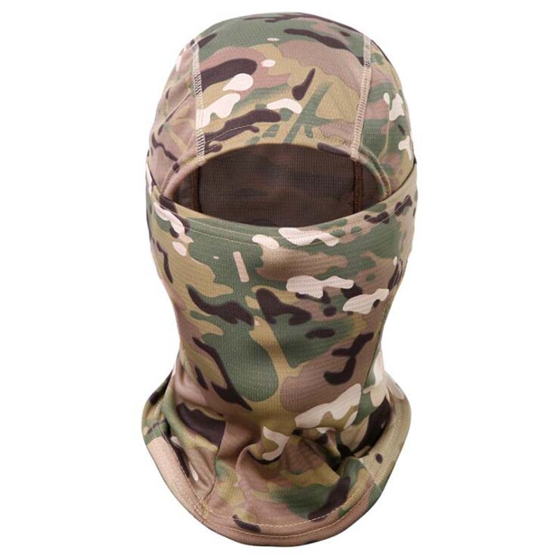 Multicam CP Camouflage Balaclava Full Face Mask Wargame Cycling Hunting Army