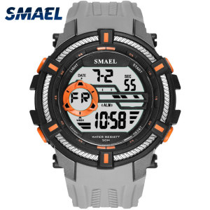 Sport Watches Military SMAEL Cool Watch Men Big Dial S Shock Relojes Hombre Casual LED Clock1616 Digital Wristwatches Waterproof