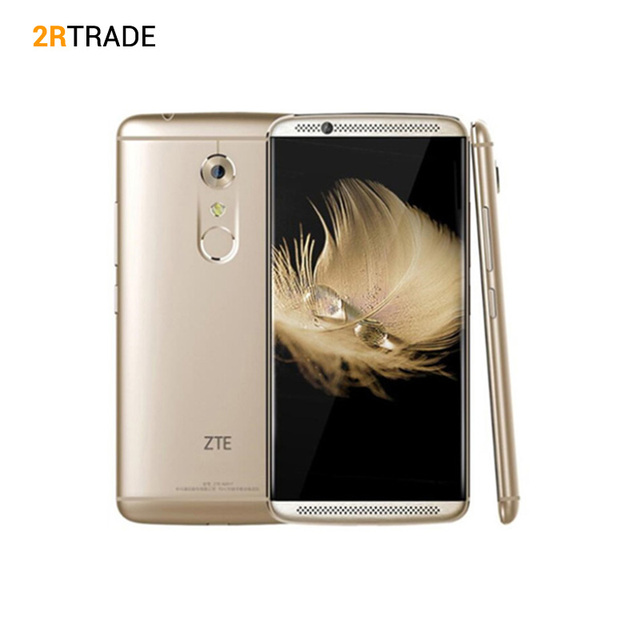 "Original ZTE Axon 7 A2017 Snapdragon 820 MSM8996 Quad Core 2.15GHz 5.5"" Mobile Phone 4GB RAM 64/128GB ROM 20.0MP Fingerprint"