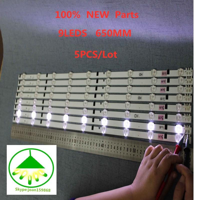 5piece/lot 650mm LED Lamp strip 9leds For UA32F4088 2013SVS32H D2GE-320SC0-R3 UA32F4088AR CY-HF320AGEV3H UE32F5000 UA32F4000AR5piece/lot 650mm LED Lamp strip 9leds For UA32F4088 2013SVS32H D2GE-320SC0-R3 UA32F4088AR CY-HF320AGEV3H UE32F5000 UA32F4000AR
