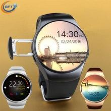 GFT KW18 Smart WatchClock Mit Sim Einbauschlitz Push-nachricht Bluetooth Android Phone Smartwatch sim uhr mit pulsmesser