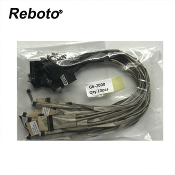 Reboto NEW LCD CABLE For HP Pavilion G6 G6-2000 G6-2238dx Laptop LCD LVDS Flex Video Cable DD0R36LC000 DD0R36LC030 DD0R36LC040