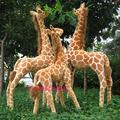 Artificial animal giraffe plush toy doll supplies home accessories Large  about 95cm gift t8833
