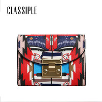 Wallet Women Luxury Brand 2018 Newest Graffiti Printing Female Cow Genuine Leather Purse Small Zipper Hasp Wallet Coin Pocket