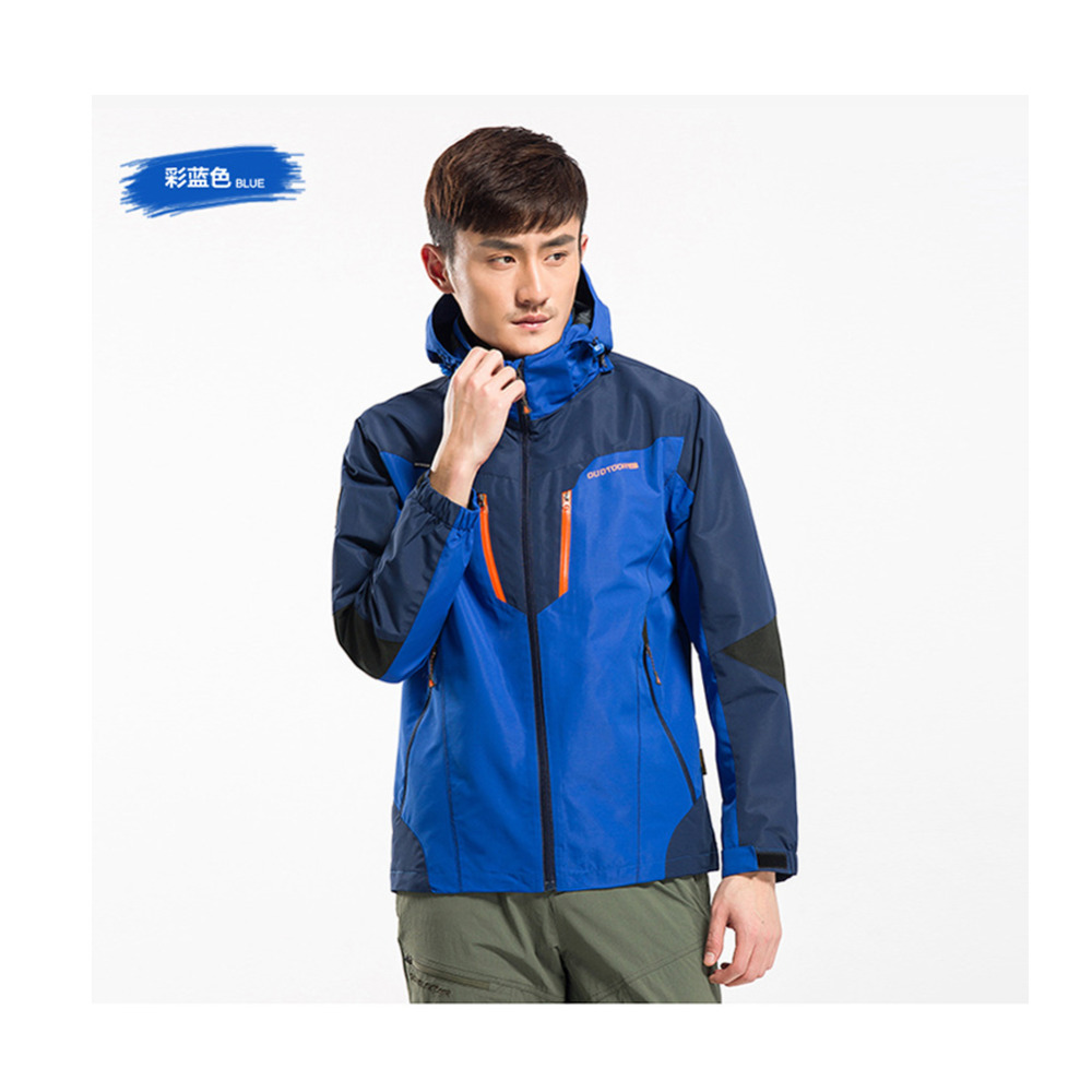 DKD-01  2016 New Outdoor Sports Single Layer Men and Women Waterproof Tech Jacket