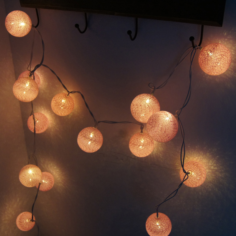 5m 28LED lampu tali garland hangat, AC110V / 220V, cahaya lampu tali - Pencahayaan perayaan - Foto 6