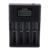 100% original soshine h4 digicharger lcd digital inteligente 4 unids li-ion cargador de batería para aa aaa 18650 14500 26650 baterías