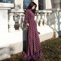 2016 Female Dress Autumn Tee Seven Sleeve Loose Stitching Slim Dress Fashion Personality Stamp Vestidos China Dress Women