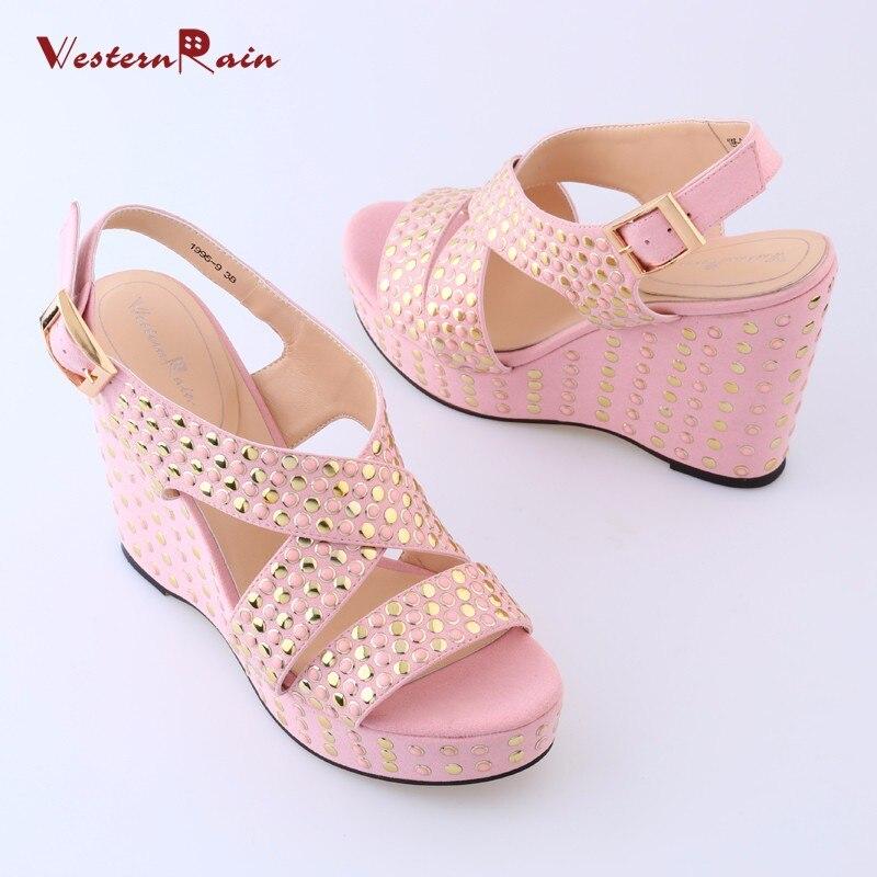 Sandales Rose Et Talons Sacs De Couleur Chaussures Cristal 20 Super qBETxPnw