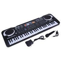 whyy-61 ключи цифровой музыки доска для ключей электронная клавиатура электрический пианино детский подарок, сша штекер