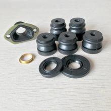 Китайская бензопила сальник кольцевой демпфер для резиновых Впускной набор коллектора для 45CC 52CC 58CC 4500 5200 5800 запасные Запчасти