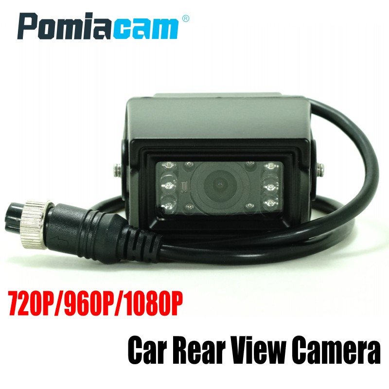 10pcs/lot 720/960/1080p AHD Car Truck BUS Camera AV780 HD CCD Waterproof vehicle rear view camera 6 LED Nights Vision factory truck bus camera ahd ccd rear view camera 24v truck camera iveco isuzu truck van trailer buses waterproof camera