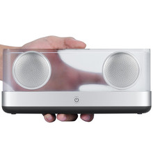 W-king Speakers Portable Bluetooth Speaker Transparent Home System Bluetooth Speaker 4.2 with TF 20W Portable Wireless Speaker