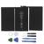 Nueva 6500 mah 3.8 v reemplazo de la batería interna de li-ion para ipad 2 gen generación a1376 616-0576 con el envío de reparación herramientas