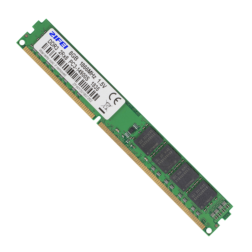 ZIFEI DDR3 RAM 16GB (8GB*2 Dual-channel) 1866 1600 1333 MHz 2Rx8 Dual Module 240pin DIMM Desktop Memory With 16pcs Samsung Chips