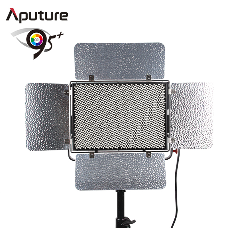 Aputure Light Storm LS 1C 1536 lamp beads Bi-Color LED Light Panel with Anton Bauermount Plate