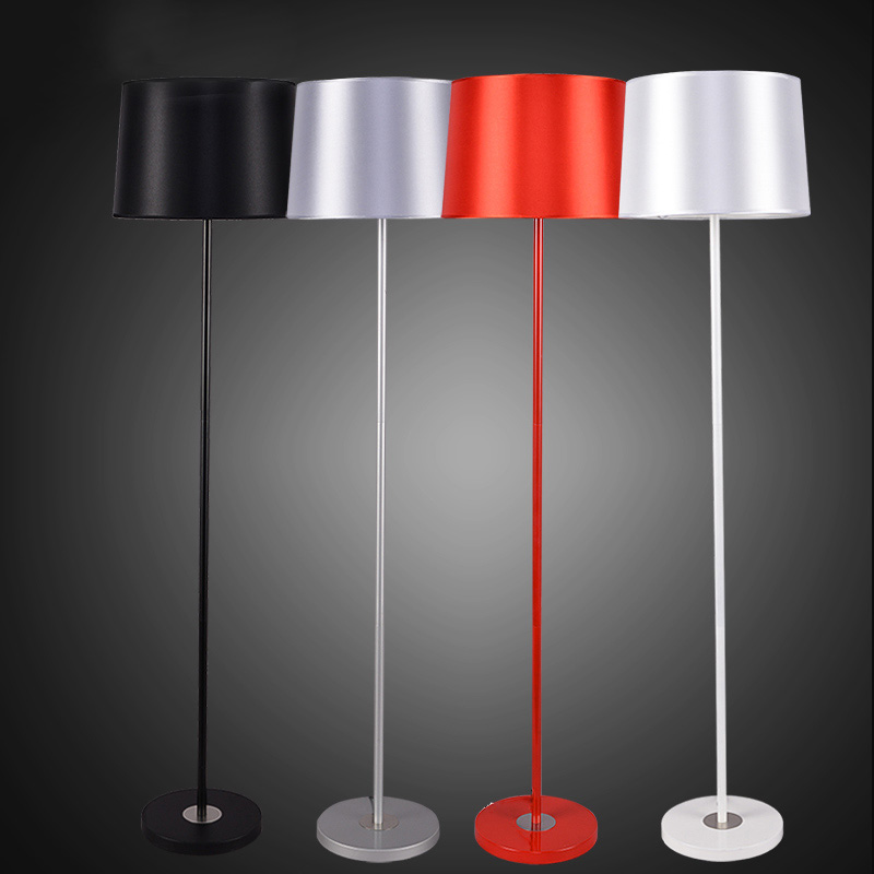 2016 New High Quality Metal Simple Modern Floor Lamp Light stand lamp lambader for living room and bedroom 4 Colors Available