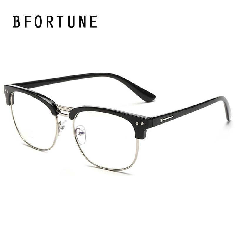 BFORTUNE Fashion Vintage Glasses Frame Mens Women Brand Designer ...