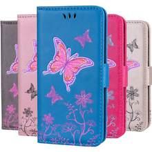 Роскошный чехол для телефона с бабочкой huawei p9 p8 lite 2017