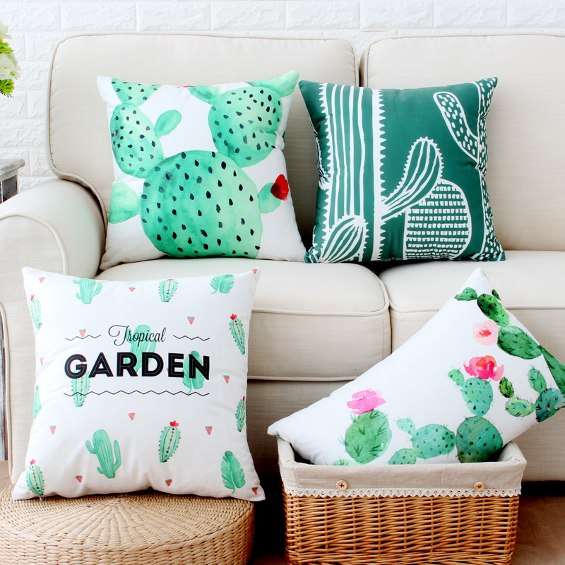 Aliexpress.com : Buy Wholesale Cactus Velvet Pillow Cover ...