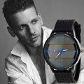 Mens Relojes de Primeras Marcas de Lujo Del Cuarzo Del Deporte Militar de Acero Inoxidable Dial Sillicone Reloj de Los Hombres relogio masculino Feida