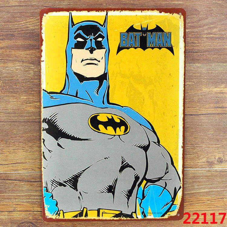 Popular Gift Batman Comics Bat Man Retro Superhero, Comics, Tin Sign, Home Decor, Man Cave A-0427