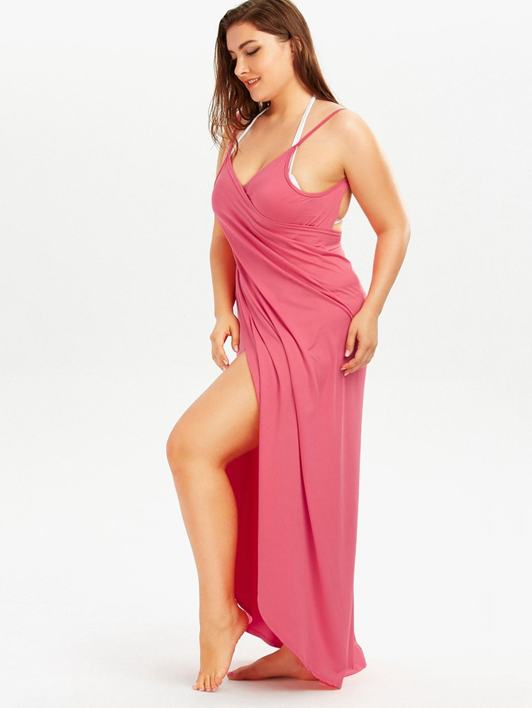 Plus Size Pareo Beach Cover Up Wrap Dress Bikini Swimsuit Bathing Suit Cover Ups Robe De Plage Beach Wear Tunic kaftan Swimwear 23