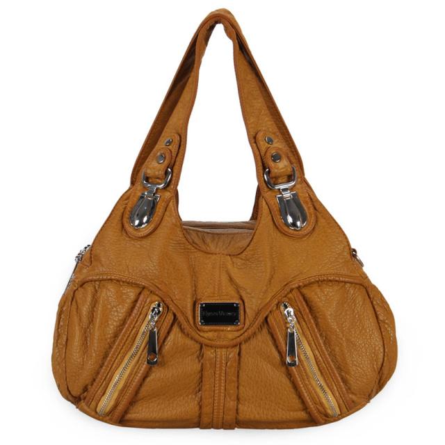Fashion Brands High Quality Leather Women Handbag 2017 Ladies Tote Handbags Shoulder Bag Female Vintage Messenger Bags Crossbody