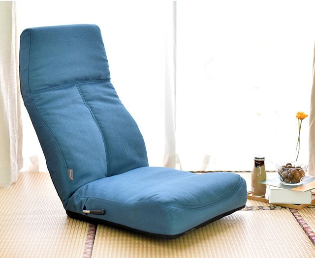 Adjustable 14 Position Floor Legless Chair Folding Lazy Sofa Floor Sofa Chair  Cushion Living Room