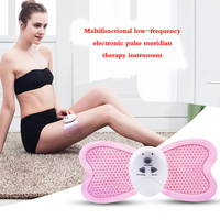 Powerful Big Butterfly Massager Pad Burning Fat Low Frequency Electronic Pulse Meridian Therapy Instrument Slimming Device