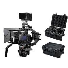 Camera Shoulder Rig DSLR Rig Kit Follow focus Carbon Matte Box amp Safety case 15mm rod