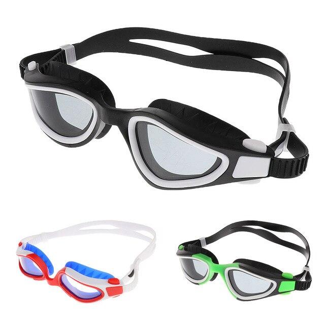 Profesional Natación anti niebla gafas de natación adultos natación ...